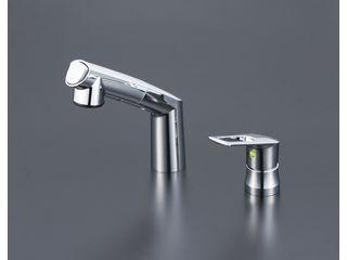 KVK/ケーブイケー 寒冷地用 シングル洗髪シャワー eレバー KM5271ZTEC