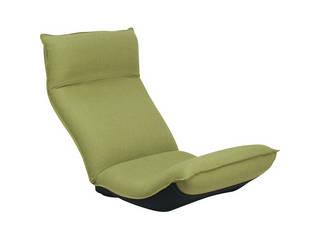 産学連携 リラックス座椅子 グリーン FRリラックス CBC313 GR
