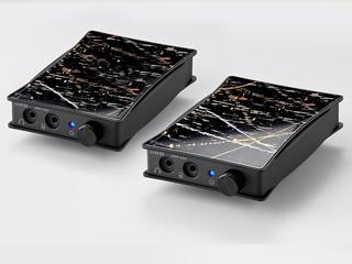 【納期にお時間がかかる場合があります】 ORB オーブ JADE next Ultimate bi power FitEar-Balanced JAPAN ポータブルヘッドフォンアンプ【2台1セット】 【FitEarモデル(1.2m) Balanced(17cm)】 数量限定