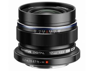OLYMPUS/オリンパス M.ZUIKO DIGITAL ED 12mm F2.0(ブラック)