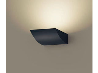 Panasonic/パナソニック LGB81672BLB1 LED小型ブラケット オフブラックレザーサテン 【電球色】【調光可能】【壁直付型】