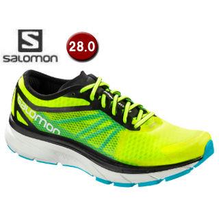 SALOMON/サロモン ■L40009200 SONIC RA ロードランニングシューズ メンズ 【28.0cm】 (Safety Yellow / Black / Blue Bird)