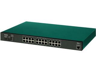パナソニックESネットワークス 【キャンセル不可】24ポート PoE給電スイッチングハブ 3年先出しセンドバック保守 PN25249B3