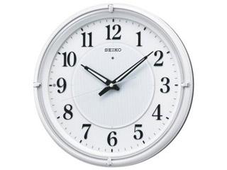 人気激安 SEIKO/セイコークロック KX393W 電波掛時計 自動点灯機能/おやすみ秒針, parisrose:3bb8400b --- anakbola.xyz