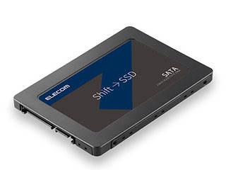 ELECOM/エレコム 2.5インチ SerialATA接続内蔵SSD 480GB セキュリティソフト付 ESD-IB0480G