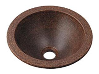 KAKUDAI/カクダイ 493-013-M 丸型手洗器 (窯肌)