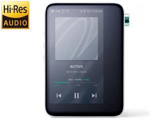 groovers japan/グルーヴァーズ ジャパン ACTIVO-CT10-WHT(クールホワイト) ポータブルオーディオプレーヤー Cool White