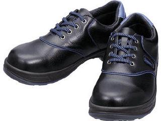 Simon/シモン 安全靴 短靴 SL11-BL黒/ブルー 28.0cm SL11BL-28.0