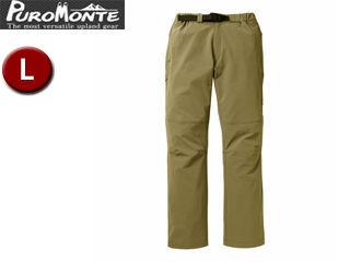 Puromonte/プロモンテ PL151M-BW トレッキングパンツ 【L】 (ブラウン)