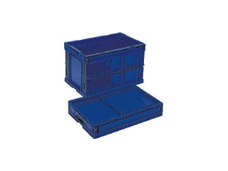GIFU/岐阜プラスチック工業 RISU/リス 折りたたみコンテナCB-S175C ダークブルー CB-S175CDB