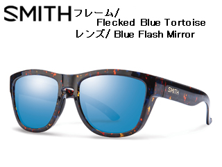 【nightsale】 Smith Optics/スミス CLARK Flecked Blue Tortoise 【レンズ/Blue Flash Mirror】 【当社取扱いのスミス商品はすべて日本正規代理店取扱品です】