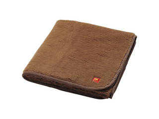 キャメルハイパイル敷毛布(毛羽部分)(袋入)