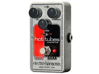 electro harmonix/エレクトロハーモニクス Hot Tubes nano オーバードライブ エフェクター 【国内正規品】