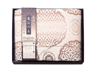 プレーリードッグ 極選魔法の糸×オーガニック プレミアム五重織ガーゼ毛布2枚/GMOW-30200