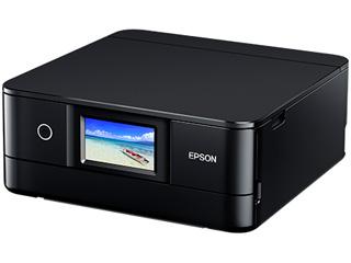 EPSON/エプソン A4インクジェット複合機 カラリオ Colorio/6色/有線・無線LAN/両面印刷/4.3型液晶 EP-882AB