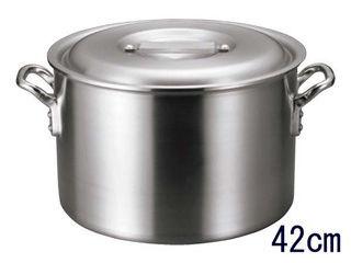 EBM アルミ バリックス 半寸胴鍋(磨き仕上げ)42