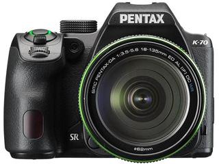 【梱包B級品もあります!】 PENTAX/ペンタックス K-70 18-135WR キット(ブラック) 【catokka】