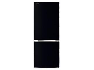 東芝 GR-S15BS-K(セミマットブラック) 冷凍冷蔵庫【153L】