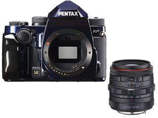 PENTAX/ペンタックス KP J limited Dark Night Navy(ダークナイトネイビー)ボディキット + 20-40mm標準ズームレンズセット