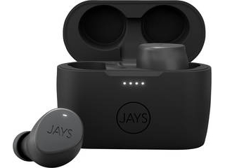 JAYS/ジェイズ 完全ワイヤレス JAYS m-Seven トゥルーワイヤレスイヤホン(Bluetooth 5.0/グレー) JS-MSTW-GY