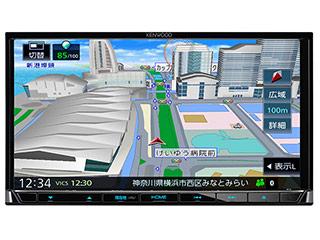 KENWOOD/ケンウッド MDV-S707 Sai-Soku/彩速ナビゲーション 7V型ワイドVGAパネル DVD/USB/SD AVナビゲーション 地図更新1年間無料