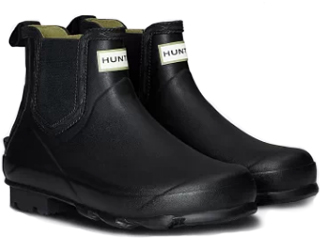 HUNTER/ハンター ★★★メンズ ノリスフィールドチェルシーブーツ 7(26cm) ブラック MFS9074RMA-BLK