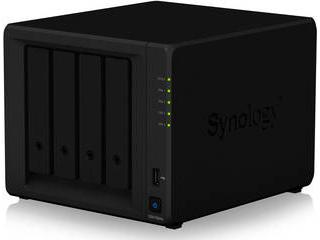Synology/シノロジー NASケース DiskStation DS418play Celeron J3355 2.0GHz CPU搭載4ベイNAS