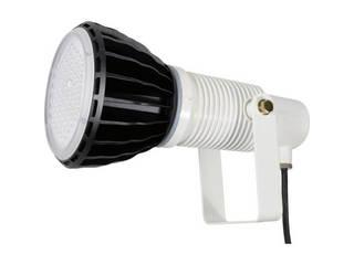 NICHIDO/日動工業 LED安全投光器100W 常設型 スポット 本体白 ATL-E100-SW-50K