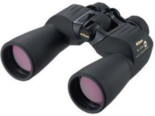 本体内部に窒素ガスを充填した、本格派防水双眼鏡。倍率10倍。対物レンズ 有効径:50mm。 Nikon/ニコン 双眼鏡 「アクションEX」 10×50 CF 【10x50 CF】 AEX10X50