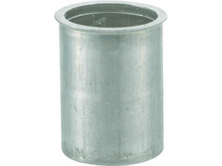 TRUSCO/トラスコ中山 クリンプナット薄頭アルミ 板厚3.5 M4X0.7 1000個入 TBNF-4M35A-C