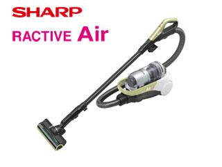 SHARP/シャープ EC-AS500-Y コードレスキャニスターサイクロン掃除機 RACTIVE Air (イエロー系)
