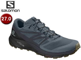 SALOMON/サロモン L40673900 センス ライド 2 トレイルランニングシューズ メンズ【27.0cm】(StormyWeather/Ebony/Black)