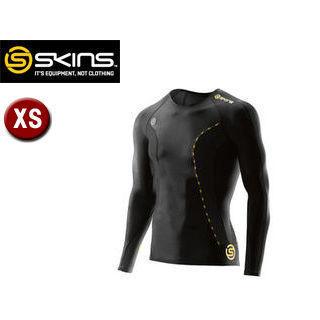 SKINS/スキンズ DK9905005-BKYL DNAMIC メンズ ロングスリーブトップ 【XS】 (ブラック×イエロー)