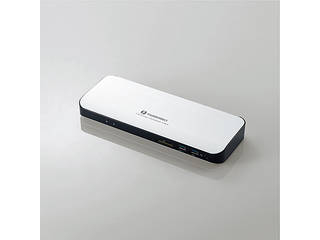 ELECOM/エレコム Type-Cドッキングステーション/PD対応/ThunderBolt3対応Type-C/USB3.0/HDMI/SD/LAN/シルバー DST-TB301SV