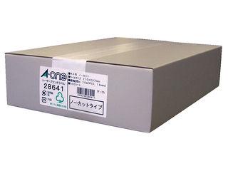A・one/エーワン レーザープリンタラベル A4判 1面 28641