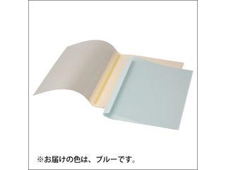 ACCO BRANDS JAPAN/アコ・ブランズ・ジャパン 熱製本用カバー A4 9mm ブルー TCB09A4R 表紙カバー10枚入(表紙:透明クリアシート、裏表紙:紙)