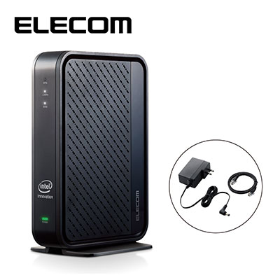 ELECOM/エレコム Wi-Fi 6(11ax)対応無線LANルーター 2402+574Mbps Wi-Fi ギガビットルーター WRC-X3000GS ブラック