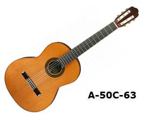 Aria/アリア A-50C-63 クラシックギター 【630mm】【ソフトケース付き】【ARIACG】 【沖縄・九州地方・北海道・その他の離島は配送できません】 【RPS160228】【配送時間指定不可】
