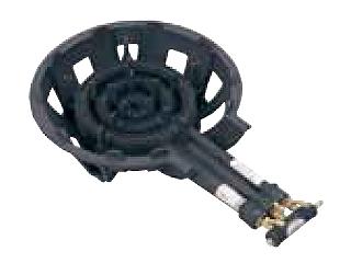 ※こちらはLPガス専用になります。 大栄産業 鋳物コンロ DE-30nSL(三重) P無 LPガス