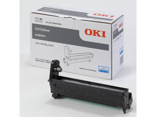 OKI/沖データ イメージドラム シアン (C612dnw) DR-C4DC