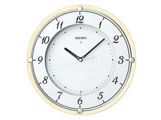 SEIKO/セイコークロック 電波掛時計 【KX373A】 木枠