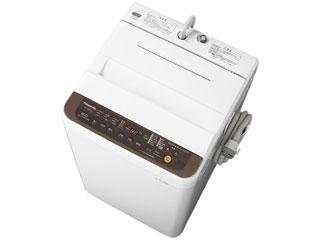 【標準配送設置無料!】 Panasonic/パナソニック 【まごころ配送】NA-F60PB12-T(ブラウン) 全自動洗濯機(洗濯・脱水容量6kg) 【お届けまでの目安:10日間】