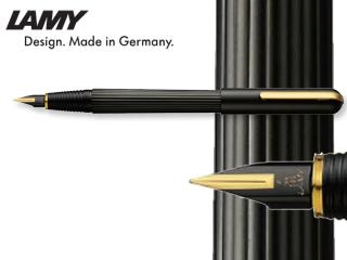 LAMY/ラミー 【imporium/インポリウム】ブラック/ゴールド FP (EF) L60-EF