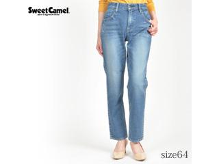 Sweet Camel/スイートキャメル ハイパワーストレッチデニム テーパード 【S6中色USED/サイズ64】■SC5392