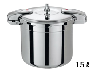 ワンダーシェフ ワンダーシェフ プロビッグ圧力鍋 15L 610416