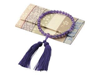 女性用念珠セット 紫水晶