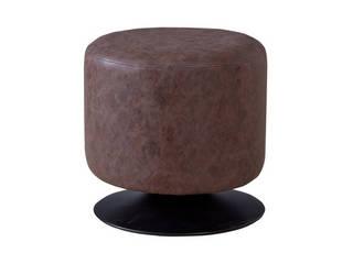 人気商品 お部屋をおしゃれなカフェ風に!Rota ローテ 360度回転式 ラウンドスツール