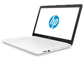 HP エイチピー 15.6型ノートPC HP15-db G1(A6/4GB/1TB) 6MY38PA-AAAA ピュアホワイト