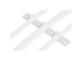 Panduit/パンドウイットコーポレーション 固定具 マルチタイプレート (100個入) MTP4H-E10-C