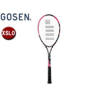 GOSEN/ゴーセン SRCETS ソフトテニス ラケットCUSTOMEDGE TYPE-S (フレームのみ) 【XSL0】 (ショッキングピンク)
